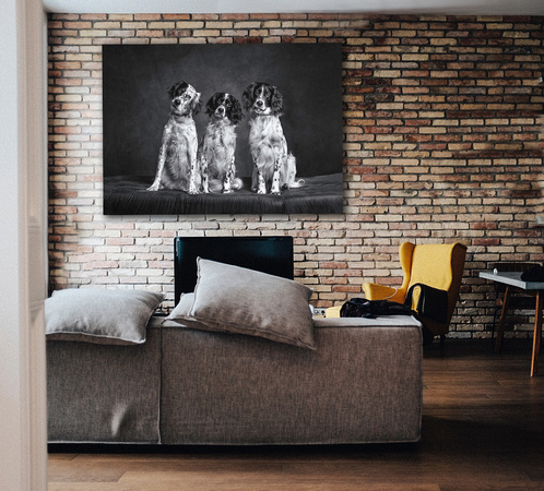 We are Family Wall art ad