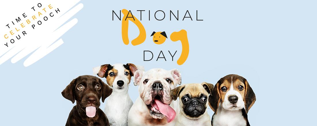 National Dog Day Banner